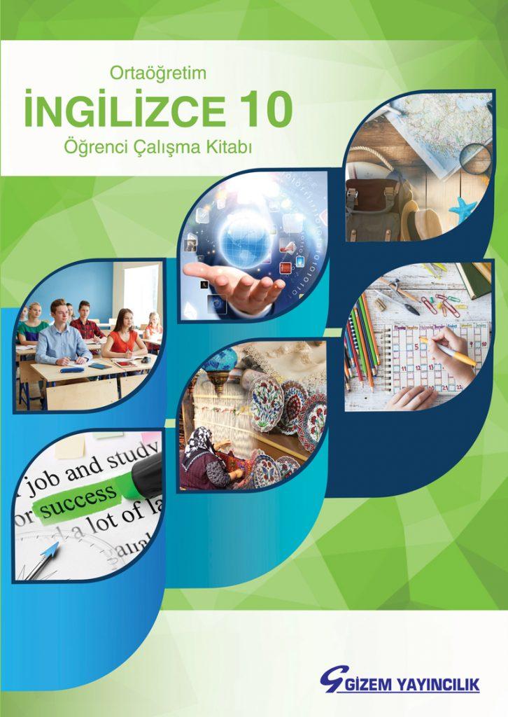 10. Sınıf İngilizce Çalışma Kitabı Çözümleri ve Cevapları Gizem Yayınları