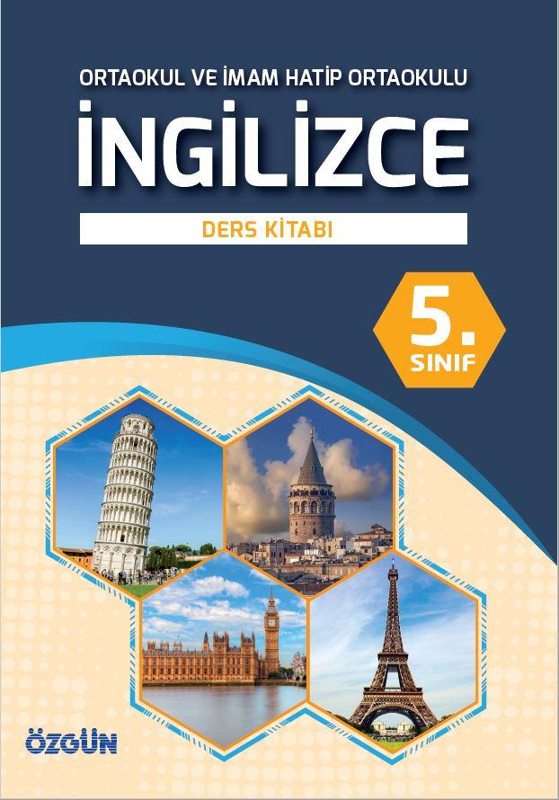 5. Sınıf İngilizce Ders Kitabı Çözümleri ve Cevapları Özgün Yayınları