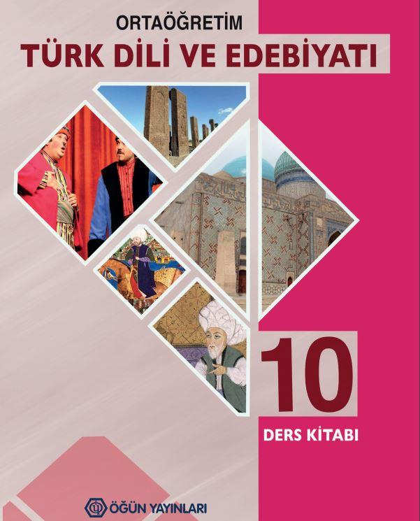 10. Sınıf Edebiyat Ders Kitabı Çözümleri ve Cevapları Öğün Yayınları