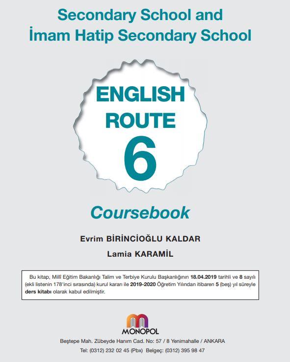 6. Sınıf İngilizce Ders Kitabı Çözümleri ve Cevapları Monopol Yayınları