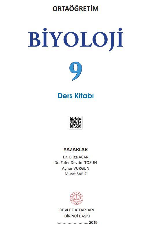 9. Sınıf Biyoloji Ders Kitabı Çözümleri ve Cevapları MEB Yayınları