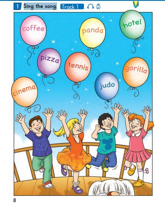 2. Sınıf İngilizce Ders Kitabı Çözümleri ve Cevapları Bilim ve Kültür Yayınları Sayfa 8